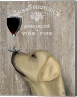Dog Au Vin Yellow Labrador Fine-Art Print