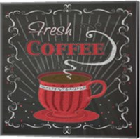 Coffee Chalk Square I Fine-Art Print