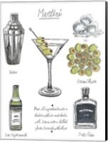 Classic Cocktail - Martini Fine-Art Print