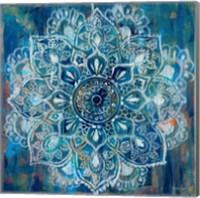Mandala in Blue II Fine-Art Print