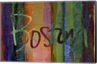 Abstract Boston Fine-Art Print