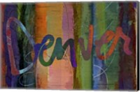 Abstract Denver Fine-Art Print