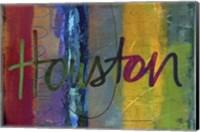 Abstract Houston Fine-Art Print
