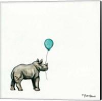 Nursery Rhino Fine-Art Print