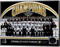 Pittsburgh Penguins 2016 Stanley Cup Champions Team Sit Down Fine-Art Print