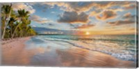 Beach in Maui, Hawaii, at sunset Fine-Art Print