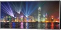 Symphony of Lights, Hong Kong Fine-Art Print