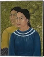 Dos Mujeres (Salvadora y Herminia), 1928 Fine-Art Print