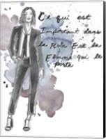Fashion Quotes III Fine-Art Print
