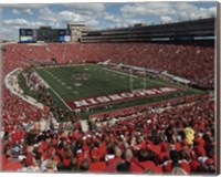 Camp Randall Stadium University of Wisconsin Badgers 2015 Fine-Art Print