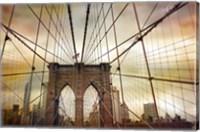 Brooklyn Bridge Sunset Fine-Art Print