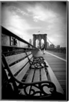 Brooklyn Bridge Promenade Fine-Art Print