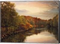 Sunset Pond Fine-Art Print