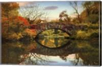 Foliage at Gapstow Bridge Fine-Art Print