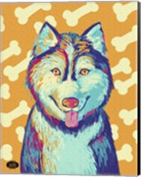 Husky Pop Fine-Art Print