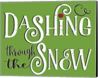 Dashing Through the Snow Fine-Art Print