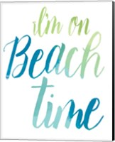 Beach time Fine-Art Print