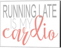 Running Late Coral Fine-Art Print