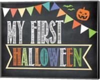 First Halloween Photo Prop Fine-Art Print