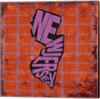 New Jersey on Pattern Fine-Art Print