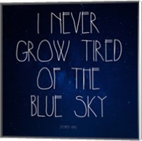 Blue Sky - Stephen King Quote Fine-Art Print