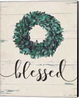 Blessed Wreath Fine-Art Print