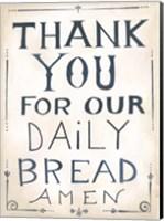 Daily Bread Fine-Art Print