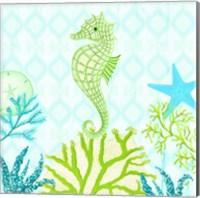 Seahorse Reef II Fine-Art Print