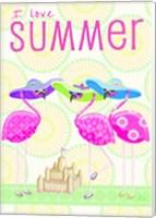 Flamingo Summer II Fine-Art Print