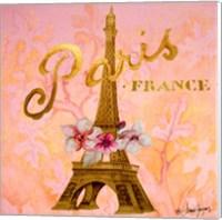 Gold Paris Eiffel Fine-Art Print