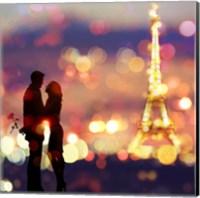 A Date in Paris (detail) Fine-Art Print