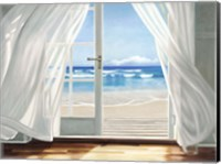 Window by the Sea Fine-Art Print
