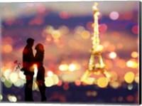 A Date in Paris Fine-Art Print