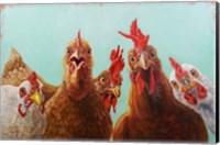Chicken for Dinner Fine-Art Print