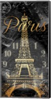 Paris Eiffel Time Fine-Art Print
