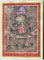 Spider Holding Pumpkin Fine-Art Print