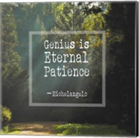 Genius is Eternal Patience - Forest Fine-Art Print