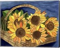 Sunflower Basket Fine-Art Print