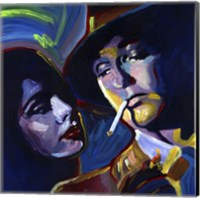 Robert Mitchum Film Noir Fine-Art Print