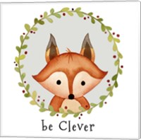 Be Clever Fox Fine-Art Print