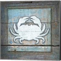 Gypsy Sea Blue Framed 4 Fine-Art Print