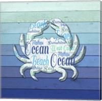 Gypsy Sea Blue V2 3 Fine-Art Print