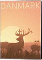 Deer Park in Esbjerg Fine-Art Print