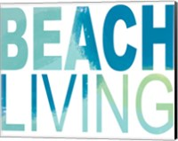 Beach Living Fine-Art Print
