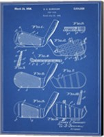 Golf Club Patent - Blueprint Fine-Art Print