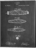 Cigar Patent - Chalkboard Fine-Art Print