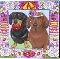 Wedding Dachsunds Fine-Art Print