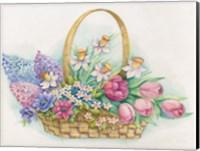 Basket of Flowers Fine-Art Print