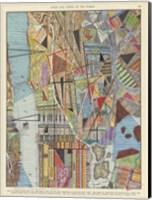 Modern Map of New York I Fine-Art Print