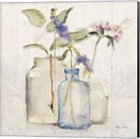Blossoms on Birch I Fine-Art Print